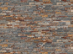Панель из натурального камня Cupastone, Decopanel Multicolor Slate